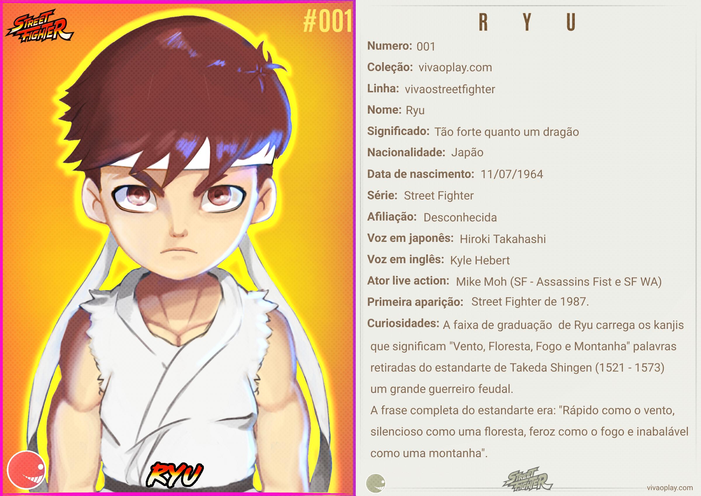 Ryu #Perfil 001